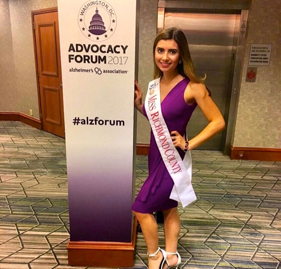 Beauty queen to speak at Alzheimer's Kick-Off event at Violette's Cellar