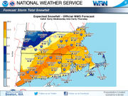 Winter storm warning issued ahead of Massachusetts springtime snowstorm