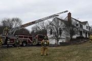 Chimney fire extinguished in Lebanon Township