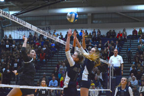 Photos from the Division 1 high school volleyball regional finals matchup between Gull Lake and Mattawan.
