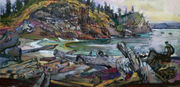 Artists band together 'for the ocean's survival' in decades-long coastline project