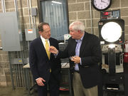 Toomey promotes tax reform at Palmer Twp. manufacturing plant