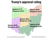 Poll on Donald Trump, John Kasich, governor's race, other topics shows geographic political divide in Ohio
