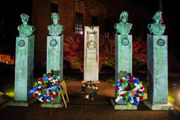 World War I veterans remembered at Bronson Park memorial