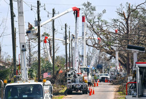 Officials with Gulf Power said electricity should be restored to almost all areas by Wednesday. Parts of the area remain under an order to boil water, though the notice was lifted over the weekend for customers in Bay County and the City of Panama City Beach.
