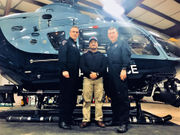 Massachusetts State Police troopers meet the man they saved in daring Merrimack River helicopter rescue
