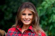 Melania Trump grows more comfortable in first lady role