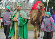 Camels! Plus a real Baby Jesus: This is the 40th annual 'Live Bethlehem Christmas Pageant' (PHOTOS)