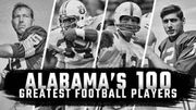 Alabama's greatest 100 football players: 2017 season update