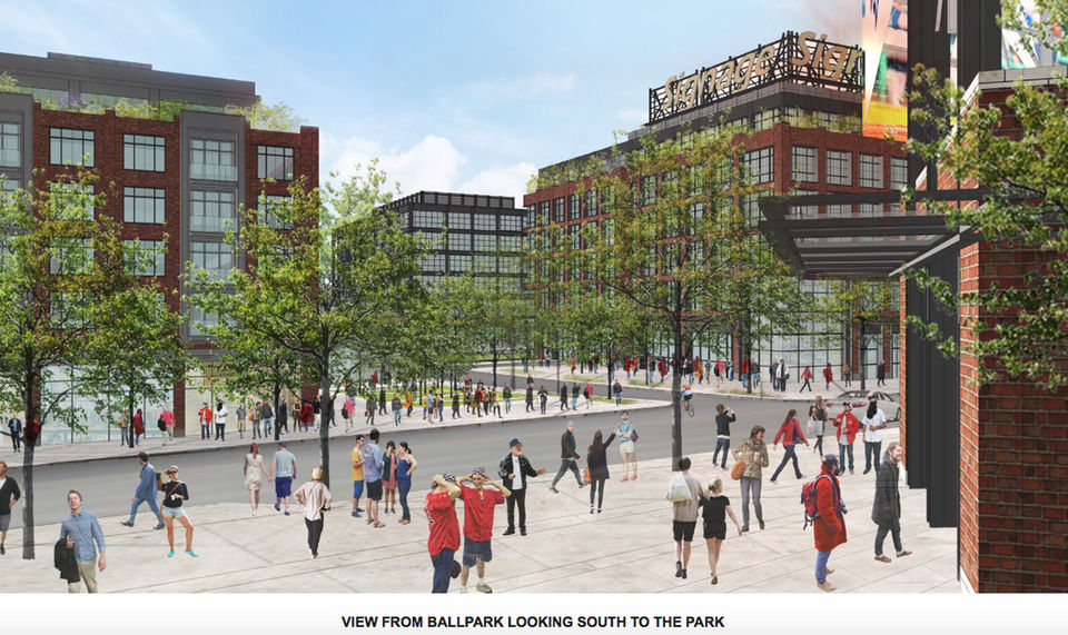 new renderings show views of polar park stadium where the worcester