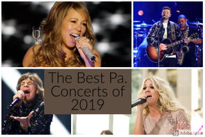 From pop divas to rock legends, the concert venues in our state are overflowing with big-name acts in 2019. Here is a quick rundown of some of the biggest and most anticipated music concerts coming to Pennsylvania, from Pittsburgh to Philadelphia and all spots in between!
