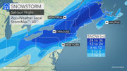 N.J. weather: Snowstorm paired with icing to make a mess of weekend