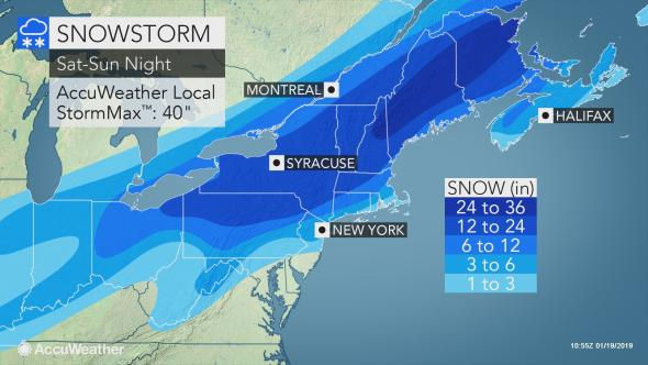 N J  weather: Snowstorm paired with icing to make a mess of