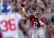 Tide QB Jalen Hurts causes stir by attending Alabama HS football game