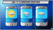 Chilly with chance for more snow: Northeast Ohio weekend forecast