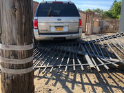 SUV careens into fence on Richmond Terrace