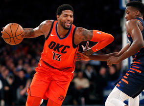 Oklahoma City defeated the New York Knicks 127-109 in a Monday afternoon Martin Luther King Jr. Day matchup at Madison Square Garden. Paul George scored 31 points and Russell Westbrook added 17 points, 10 rebounds and nine assists in the start-to-finish blowout victory, which was the Thunder's third in the last eight games. ... Oklahoma City is one of just six NBA teams that feature at least four players averaging 15.0 points or more: George (26.7 points), Westbrook (21.8), Steven Adams (15.4) and Dennis Schroder (15.4). ... George, who is also averaging 8.0 rebounds, 4.0 assists and 2.3 steals, ranks eight in the NBA in scoring. ... Heading into the game vs. the Knicks, Oklahoma City led the NBA in steals (10.33 per game) and turnovers forced (18.0 per game). ... Despite sitting the entire fourth quarter against the Knicks, Westbrook fell just one assist short of his 14th triple-double of the season. He leads the NBA in triple-doubles (13) and ranks 11th in double-doubles (28) this season. In his career, Westbrook has logged 117 triple-doubles, the third-most in NBA history behind Magic Johnson (138) and Oscar Robertson (181). ... This is the second of four meetings between the Blazers and Thunder this season. Oklahoma City won the first matchup, 111-109, Jan. 4 at the Moda Center after Damian Lillard missed a potential game-winning three-pointer with 1.5 seconds left. ... Before facing the Knicks, the Thunder owned the NBA's fourth-best defensive rating (104.2) and the seventh-best net rating (4.4). ... Oklahoma City is 14-7 at home.... The teams are separated by percentage points for third place in the Western Conference standings.