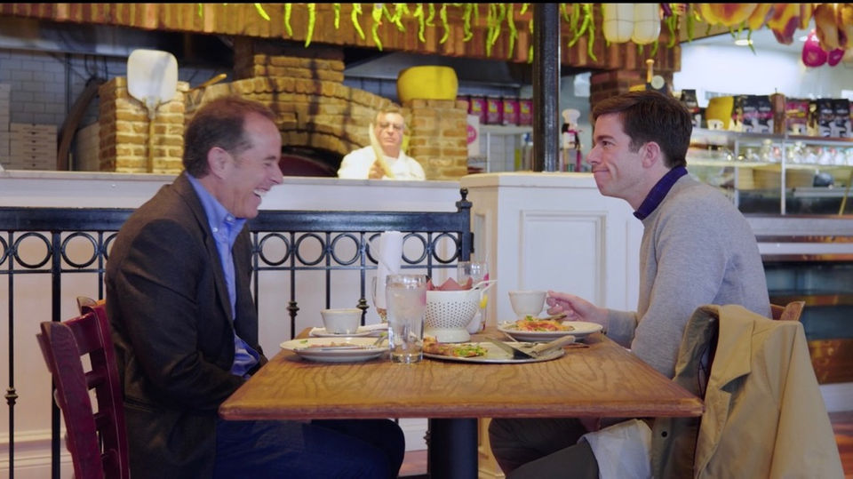 Capizzi Ristorante featured on Seinfeld's 'Comedians in Cars Getting Coffee'