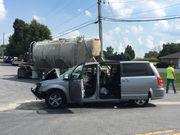 2 adults, 2 children hurt in crash into tractor trailer in Nazareth area