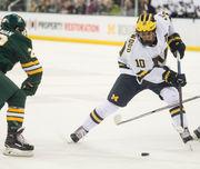 U-M No. 1 in Michigan college hockey power rankings despite season-opening loss