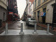 Bollards arrive on Bourbon Street: What they look like, how they work
