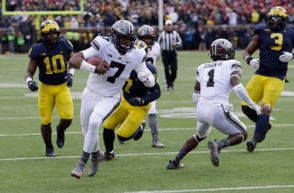 On Saturday in Columbus, Michigan and Ohio State will meet for the 115th time on the football field. The game will determine the Big Ten East Division champion, with the winner advancing to the conference title game against Northwestern and staying alive for a playoff spot. Previously, we gave you five reasons why Michigan will win The Game. Despite what Karan Higdon believes, that's no guarantee. Here are five reasons why the Wolverines will lose.
