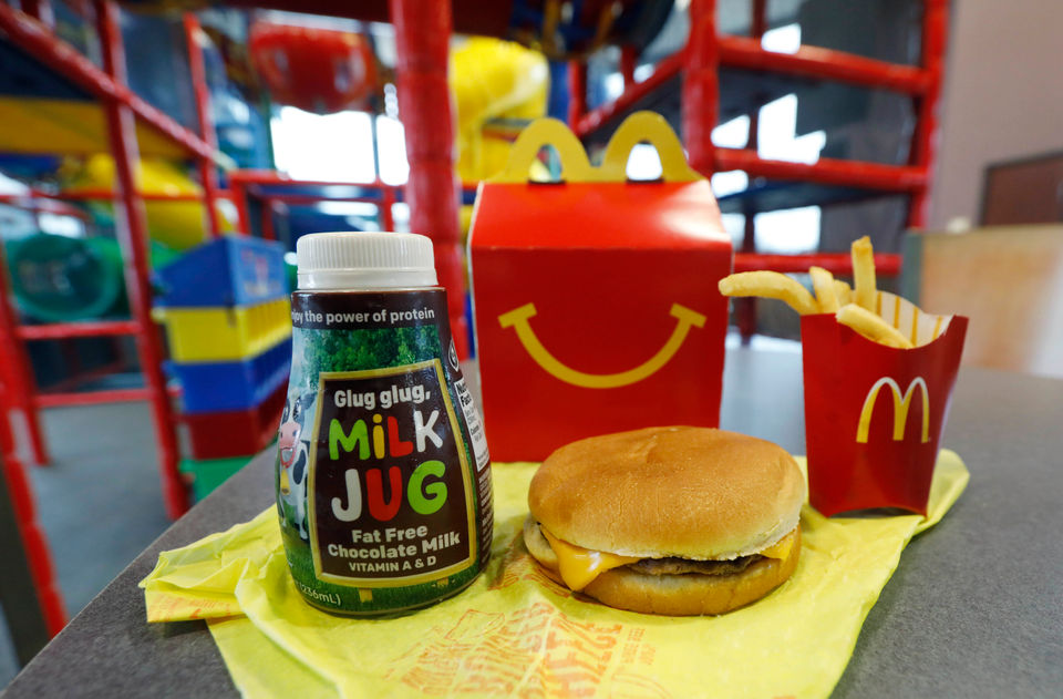McDonald's Happy Meal makeover: Cheeseburgers, chocolate milk off the menu