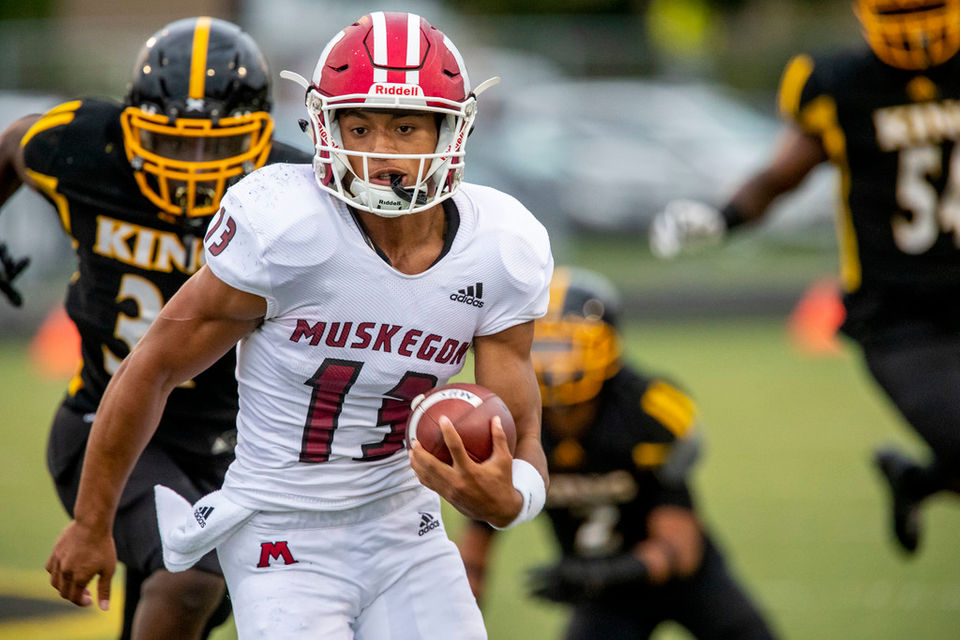 Cameron Martinez does it all in Muskegon's 41-18 win over
