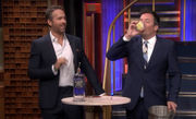 Fallon vomits on TV; 'Titanic' musical; 'Mulan' movie; Robin Wright marries: Buzz