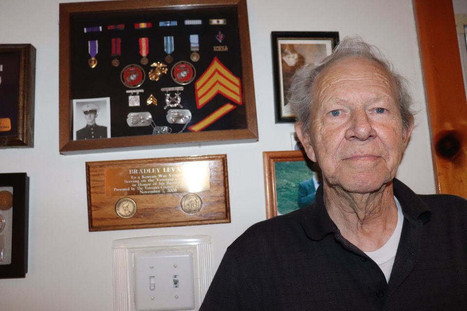 Korean War veteran Bradley LeVay