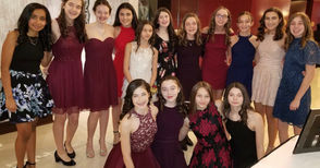 """STATEN ISLAND, N.Y. -- More than 145 darling little girls stepped out Saturday night with their dapper dads for their annual Our Lady of Good Counsel father-daughter dance. Themed """"Ties and Tiaras,"""" the much-anticipated dance was held at the Hilton Garden Inn, Bloomfield. Chaired by Nadia Papas, the event coordinator of the parent association of the Tompkinsville school, the ballroom glittered with young ladies, dressed in their elegant party clothes and tiaras. """"It was really fun, a night to remember! The best one yet,"""" said student Maggie Russo. Her sister, Mary Kate Russo added, """"The music made me feel excited, and my dad was the best dance partner."""" Scroll down for more glimpses into the sparkly evening's festivites."""