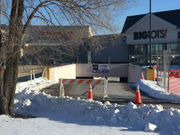Shopping complex back open after holes in parking deck repaired