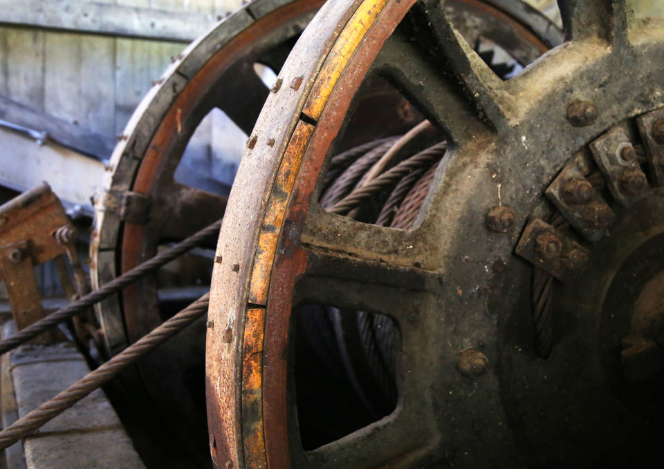 Giant gold mining machine now a tourist attraction in