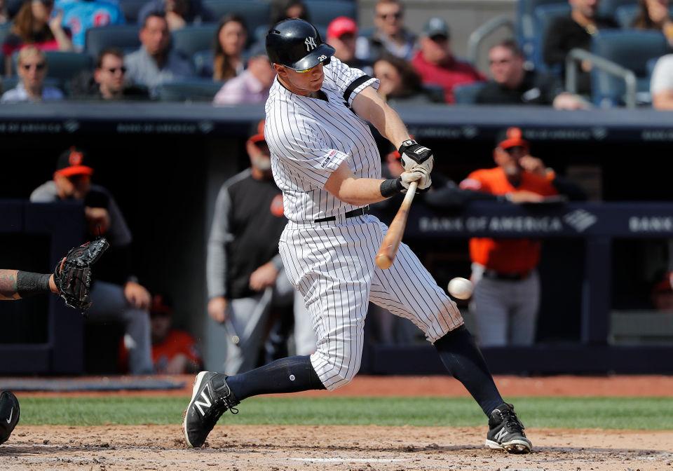 more photos b16af d479a Yankees unveil spring training-like lineup vs. Royals | NJ.com