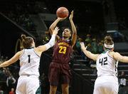Minnesota knocks off Green Bay in women's NCAA Tournament, will face Oregon Ducks next