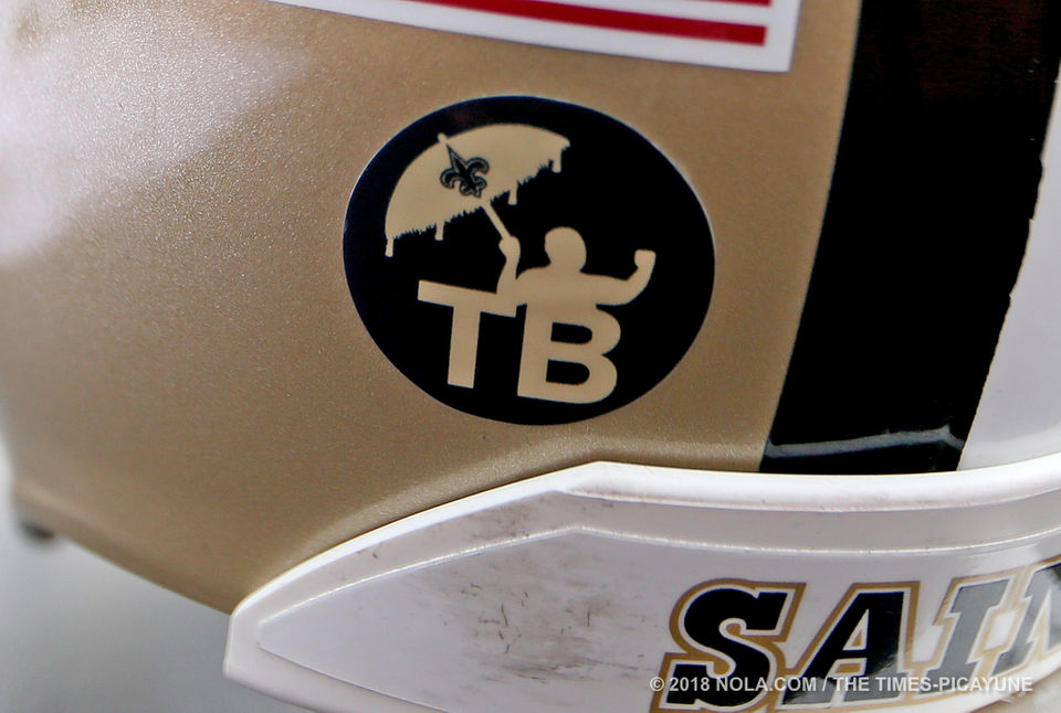 saints unveil tom benson jersey patch for 2018 season