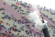 Man shot out of cannon during pre-race festivities at Michigan International Speedway
