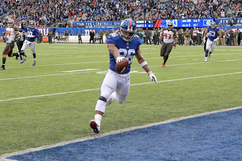 a1cc3f620 Saquon Barkley running away with top spot  Ranking top 2018 NFL Offensive  Rookie of the Year candidates after Week 11