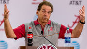 Nick Saban talks matchup with A&M, tight end play