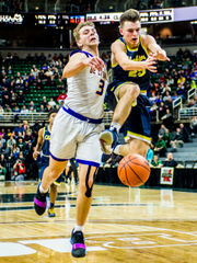 MSU commit Foster Loyer lights up Breslin Center again with 42-point performance