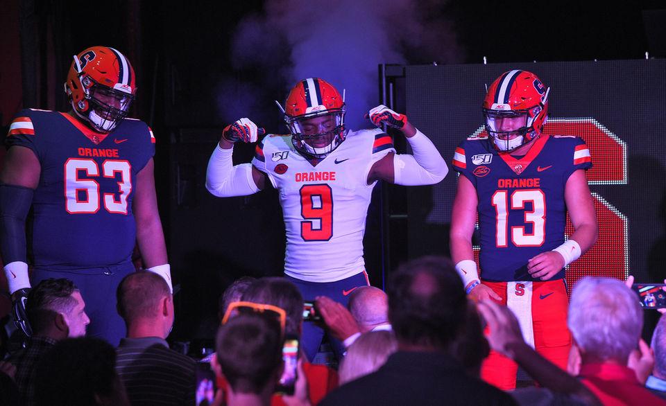 promo code 21e55 fe28f New Syracuse football uniforms look like the Cleveland ...