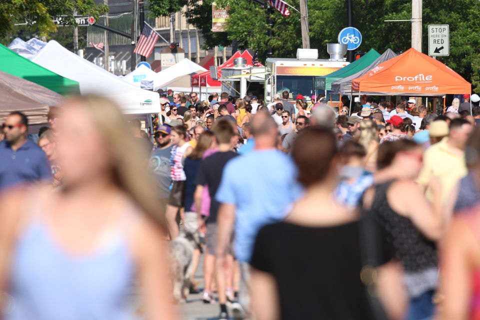 Lakewood Summer Meltdown true to its name, but heat doesn't deter thousands from coming to the annual fest (photos)