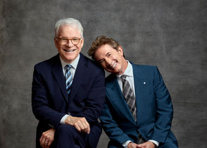 Steve Martin and Martin Short will perform at the Landmark Theatre in Syracuse on March 2, 2019.