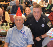Oldest Holyoke police officer celebrates 101st birthday