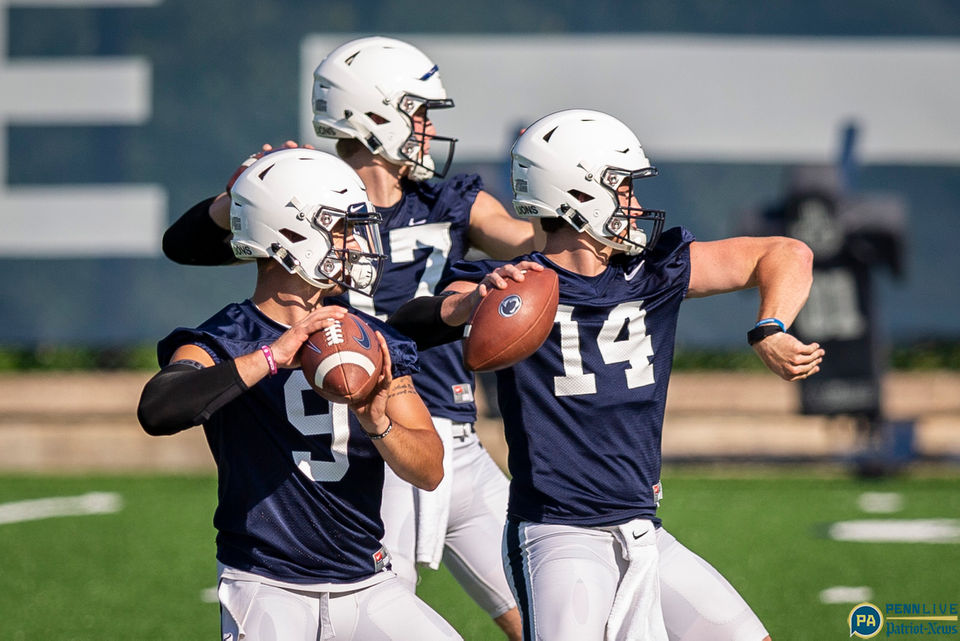Penn State football practice and media day, 2018
