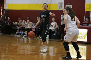 """Brooke Diaz had a season-high 17 points, including three treys, as the Warriors won the PSAL contest Friday night on the road. """"I'm happy for her and the team. She struggled a little early on but has been finding her rhythm on both ends of the court as of late,"""" said Curtis coach Talia Sutton of Diaz. """"This is just what we need from her going into the second half of our season."""" The Warriors needed Diaz in a big way as key players Oyin Oke and Mary Lee Mitchell were out. """"Other seniors like Allison Kaht, Arielle Spann and Alvina Davis stepped up tonight as well,"""" said Sutton. Spann finished with 10 points and three steals, Davis had nine points (all coming via 3-pointers in the second half) nine points, and Kaht had eight points and four rebounds. """"Gules Esposito finished with only two points but she did a good job distributing the ball and had the tough assignment of guarding (Gwen) Alberici,"""" said Sutton. """"She finished with a season-high six assists."""" Margo Salmons finished with three points and two assists off the bench."""