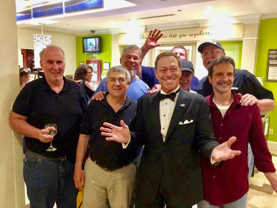 Neighborhood reunion at Hilton leads to meet and greet with Joe Piscopo
