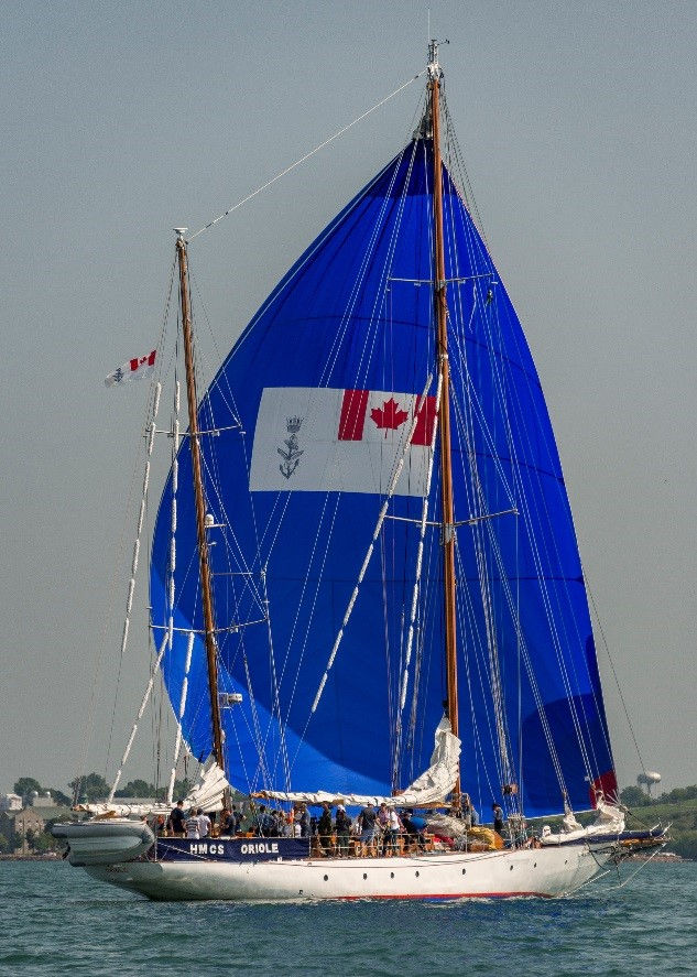 Meet the Royal Canadian Navy's Oriole: Tall Ships Cleveland