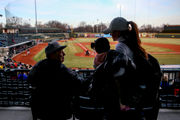 Great Lakes Loons fans brave the cold, hold up tradition on opening day