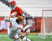 Syracuse lacrosse season drains away as offense runs out of time in loss to Cornell